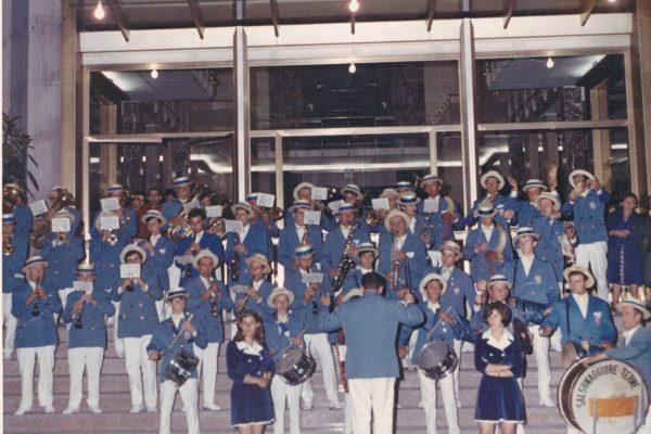 1969 - Concertino davanti alle Terme di Tabiano