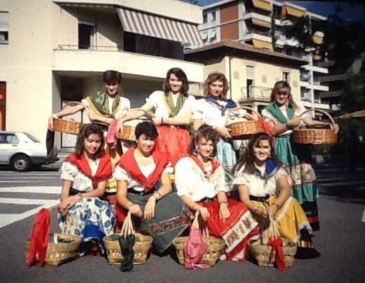 1981 - a Lugano per la Festa della vendemmia