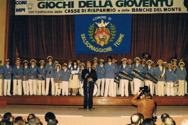 1982 - Concerto al Palazzo dei congressi di Salsomaggiore Terme