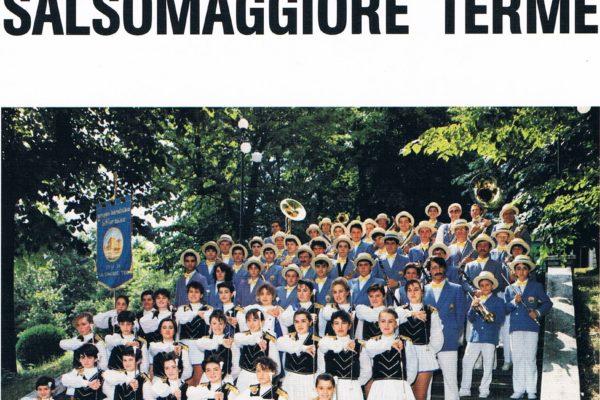 1986 - Depliant pubblicitario della Banda di Salso