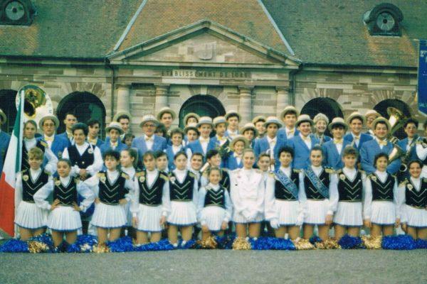 1987 - La Banda di Salsomaggiore Terme a Luxeuil-les-Bains