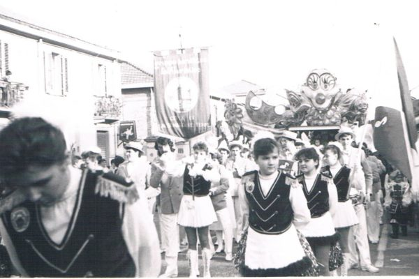 1988 - Banda di Salso al Carnevale di Messina