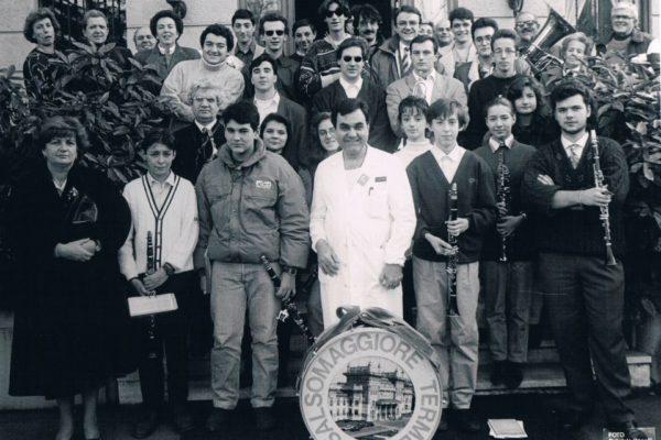 1992 - Davanti a Villa Igea