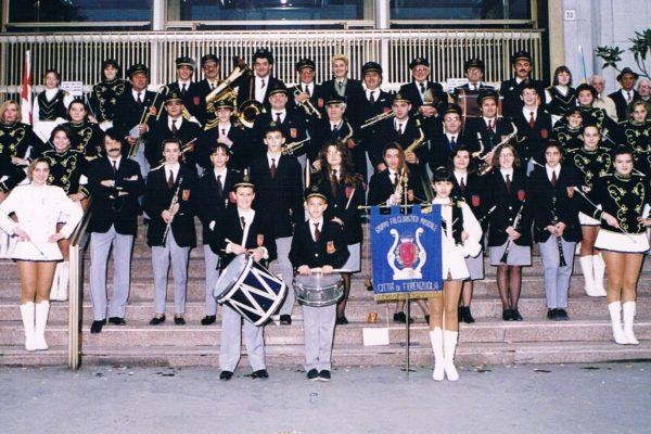 1994 - Con la divisa di Fiorenzuola.