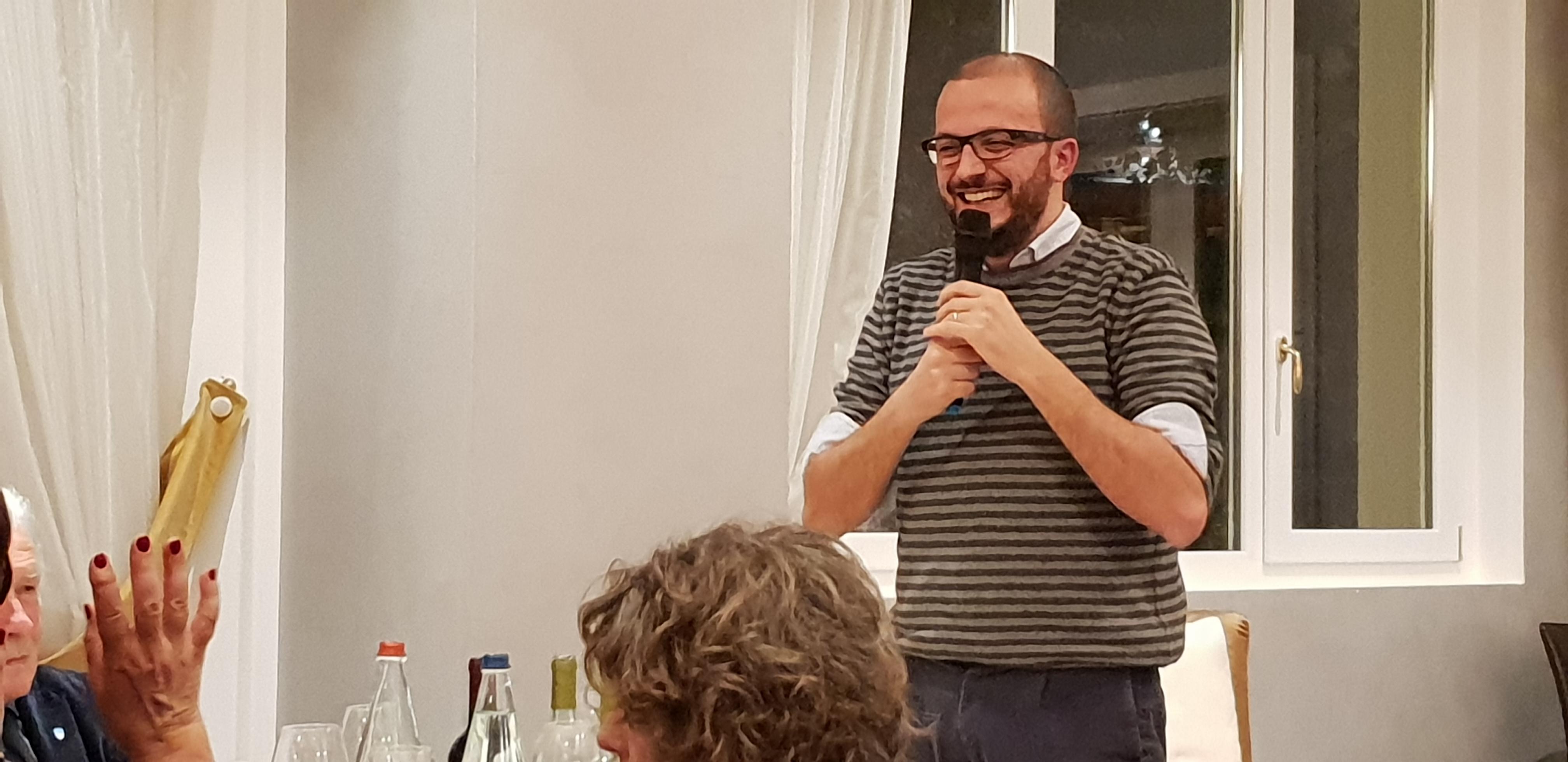 Il saluto del Sindaco Filippo Frittelli